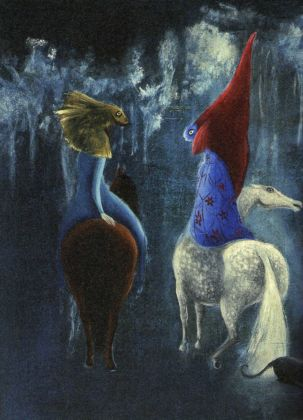 Leonora Carrington, Untitled, 1952, particolare