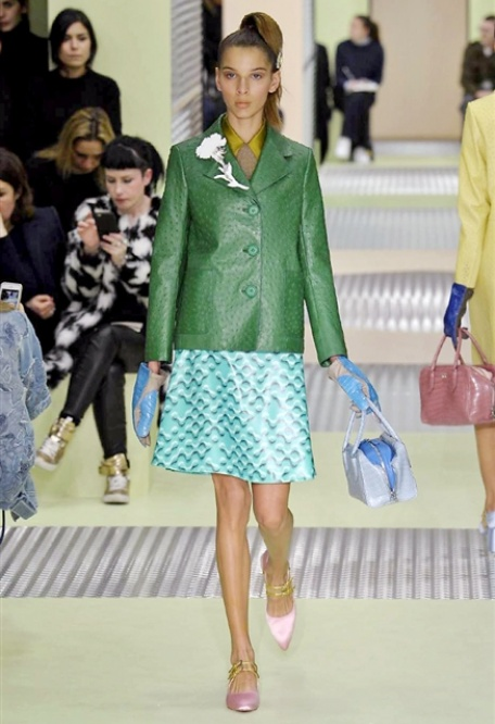Fashion week prada gucci fendi krizia i grandi brand for Fashion design milano