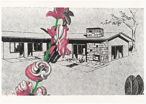 Sigmar Polke, Weekend House from Graphics of Capitalist Realism, 1967-1968