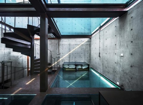 Vertical Glass House by Yung Ho Chang - courtesy Atelier FCJZ, Shanghai