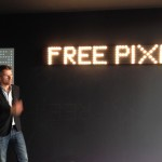 Carlo Ratti alla press conference di Free Pixel, Artemide