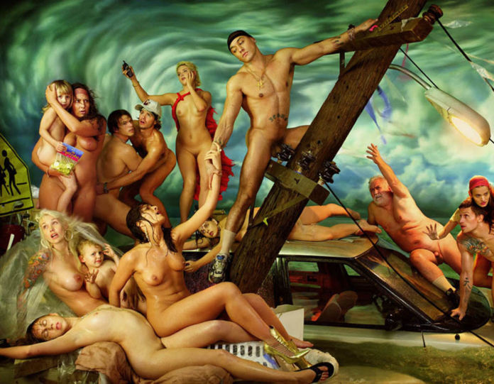 David LaChapelle, The Deluge, 2006 - dettaglio