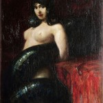 Franz von Stuck, Il Peccato, 1900 ca., Zagabria, Museum of Arts and Crafts