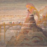 Konstantinas Ciurlionis, Angelo (Preludio dell'angelo), 1909, Kaunas, Ciurlionis National Museum of Art