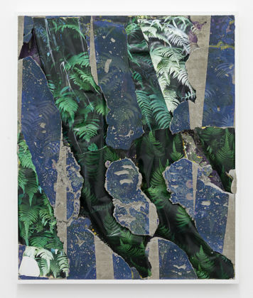 Letha Wilson, Hawaii Ferns Green, 2014 - courtesy Brand New Gallery and the artist