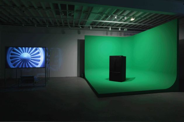 Mark Leckey, Green Screen Refrigerator - photo Maximilian Geuter