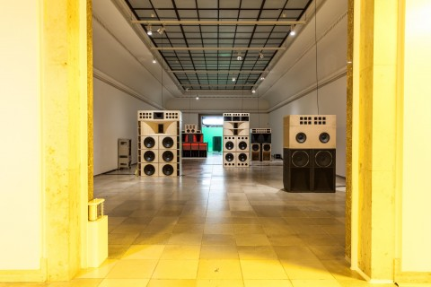 Mark Leckey, Sound Systems - photo Maximilian Geuter