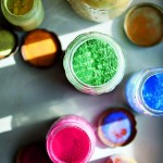 2 © Robyn Lea - Jackson and Lee's collection of paint pigments that they kept from their WPA art projects