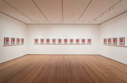 Andy Warhol - Campbell's Soup Cans and Other Works - veduta della mostra presso il MoMA, New York 2015 - photo Jonathan Muzikar