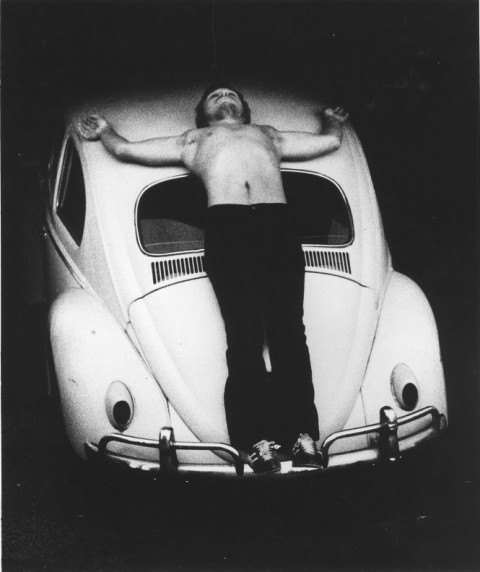 Chris Burden, Trans-fixed, 1974