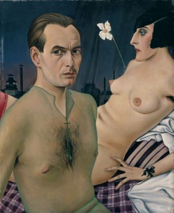Christian Schad, Autoritratto, 1927 - Private Collection, Courtesy of Tate - © Bettina Schad, Archiv U. Nachlab & Christian Schad