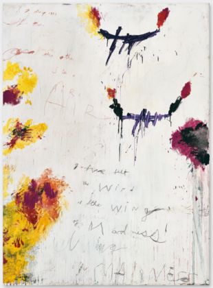 Cy Twombly, Untitled, 1992 - Cy Twombly Foundation