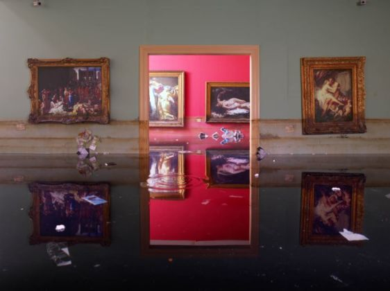 David LaChapelle, Museum, 2007, Chromogenic Print ©David LaChapelle