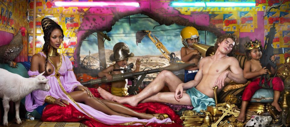 David LaChapelle, Rape of Africa, 2009, Chromogenic Print ©David LaChapelle