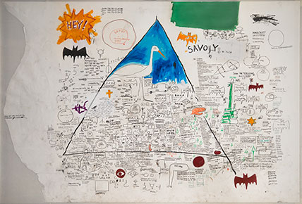Jean-Michel Basquiat, Untitled, 1986 - Collection of Larry Warsh - (c) Estate of Jean-Michel Basquiat - photo Gavin Ashworth, Brooklyn Museum