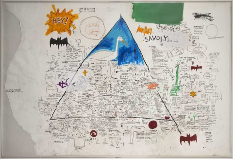 Jean-Michel Basquiat, Untitled,1986