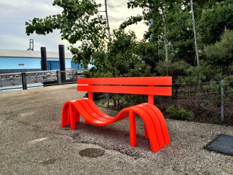 Jeppe Hein, Brooklyn Bridge Park, New York