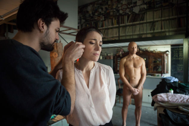Le Ragazze del Porno, Insight – fotografie sul set – photo Claudia Pajewski