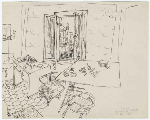 Milano - My room - Bar del Grillo, 1937 - © The Saul Steinberg Foundation-ARS, NY
