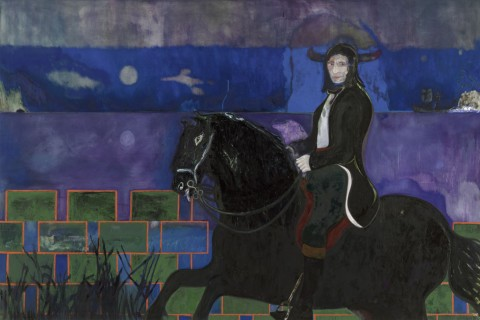 Peter Doig, Horse and Rider, 2014
