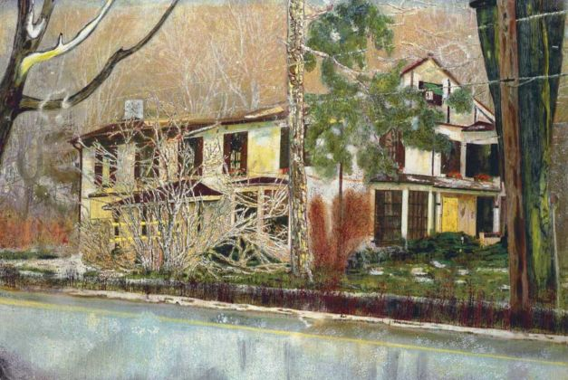 Peter Doig, Pine House (Room for Rent), 1994