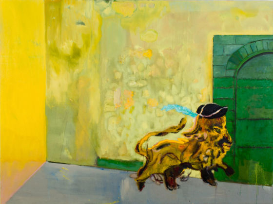 Peter Doig, Young Lion, 2015