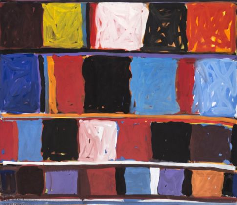 Stanley Whitney, Primordial Colors II, 1997