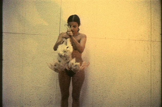 Ana Mendieta, Chicken Piece, 1972