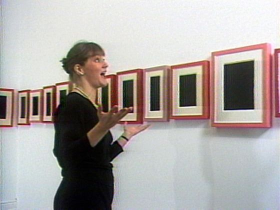 Andrea Fraser, May I help you_, 1991 - Generali Foundation Collection