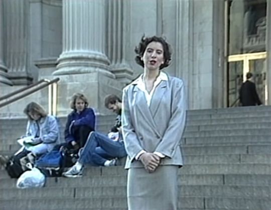 Andrea Fraser, The Public Life of Art. The Museum, 1988 - Generali Foundation Collection