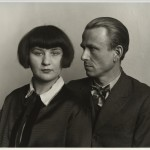 August Sander, German, 1876–1964 The Painter Otto Dix and his Wife Martha, 1925-26 from People of the 20th Century: Woman and Man Gelatin silver print, approx. 7 3/8 × 10 3/16'' (18.7 × 25.8 cm) The Museum of Modern Art, New York Acquired through the generosity of the Sander family