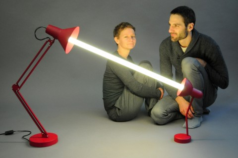 Be Open - Mischertraxler - portrait with Relumine Lamp