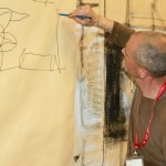 Codice Italia Academy - workshop Pittura - backstage - Stephen Ingham 2
