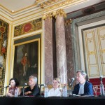 Conferenza stampa con Anish Kapoor,  Catherine Pégard e Alfred Pacquement v