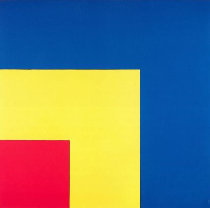Ellsworth Kelly, Red, Yellow, Blue III, 1963 - Fondation Marguerite et Aimé Maeght, Sant Paul-de-Vence - © photo Claude Germain