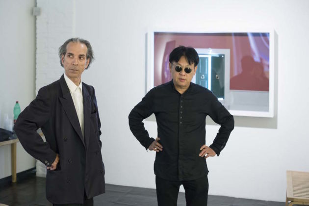 Felice Levini & H.H. Lim, 2015 - Galleria Paola Verrengia, Salerno - photo Ciro Fundarò