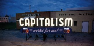 Steve Lambert, Capitalism works for me, 2011