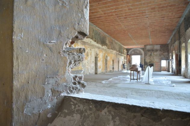 contemporary locus 8 - making of - photo Mario Albergati - Monastero del Carmine