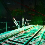 Aaron Koblin and Ben Tricklebank's artwork Light Echoes in Station to Station