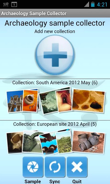 Archaeology Sample Collector