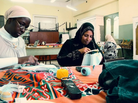 Embroiderers of Actuality (Cairo, 2014)
