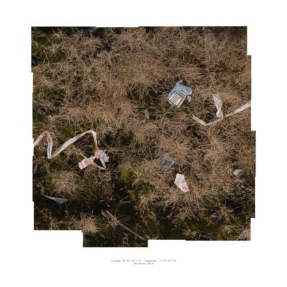 Francesco Nonino, Habitat. Italy-Slovenia land border crossing (landscan), 2015