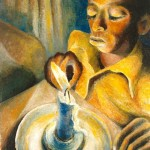 Gerard Sekoto, Boy and the Candle, 1943