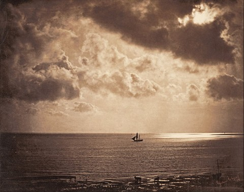 Gustave Le Gray, Brig upon the Water, 1856 - stampa su albumina