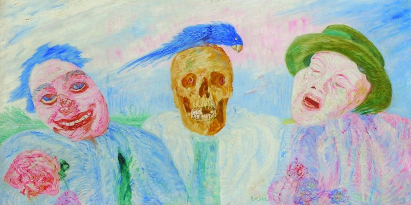 James Ensor, From laughter to Tears, 1908