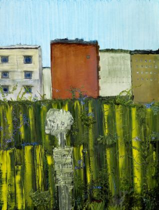 John Lurie - I Am Thankful For My Skeleton. He Is Still In The Garden, 2009