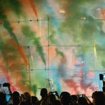 Olaf Breuning's smokebomb artwork in Station to Station