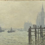 Claude Monet, Il Tamigi sotto Westminster, 1871 ca. - © The National Gallery, Londra