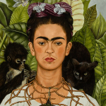 Frida Kahlo, Self-Portrait with Thorn Necklace and Hummingbird, 1940