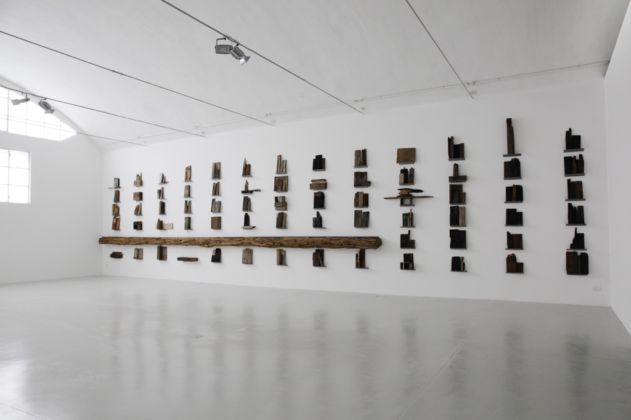 Jannis Kounellis, Senza titolo, 1987 - photo Fabio Fabbrini ® 2015 Raussmüller Collection